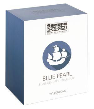Secura Blue Pearl Kondome - 100 Stück