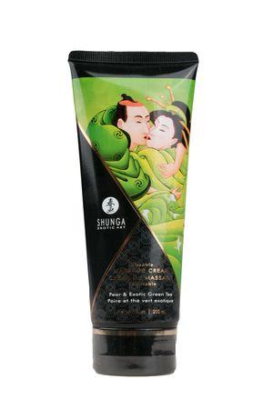 Shunga - Kissable Massagecreme - Pfirsich & Grüner Tee