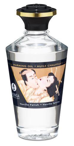 Shunga - Eetbare Massage Olie Vanille Fetish