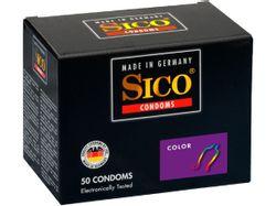 Sico Color Condooms - 50 Stuks