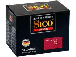 Sico Color Red Condooms - 50 Stuks