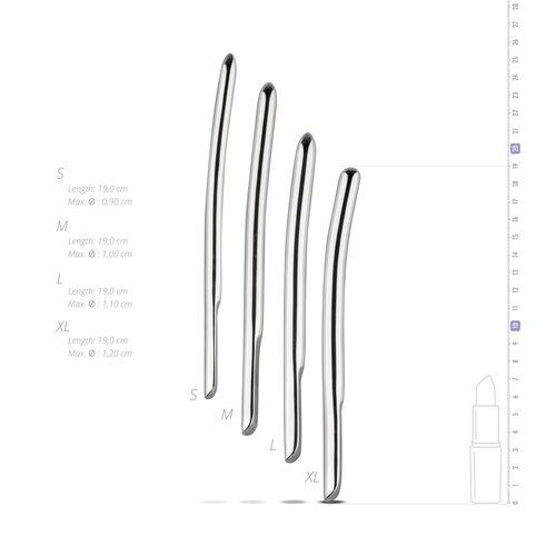 Einseitige Verwendung 4-teiliges Set, Größe 9, 10, 11, 12 mm