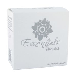 Sliquid Essentials Lube Cube - Gleitmittelset, 12 x 5 ml