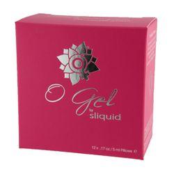 Sliquid Organics O Gel Cube - Stimulerende Clitorisgel 12 x 5 ml