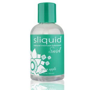 Sliquid Naturals Veganes Gleitmittel - Grüner Apfel, 125 ml