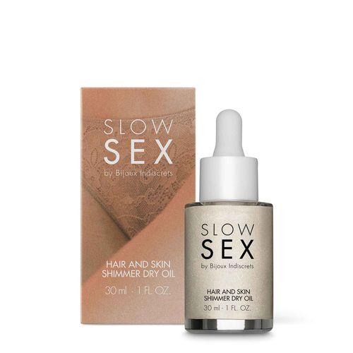 Trockenes Schimmeröl für Haut und Haare - 30 ml