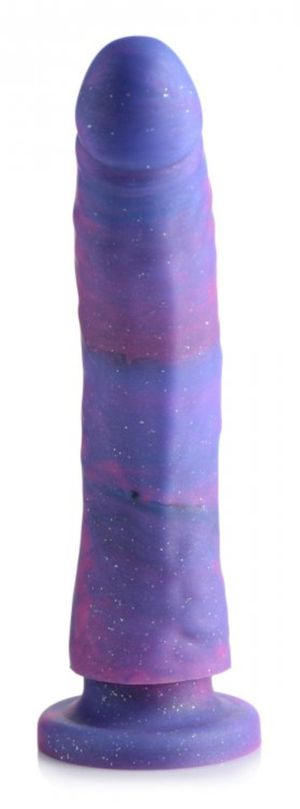 Magic Stick Siliconen Dildo Met Glitters - 20 cm