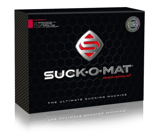 Suck-O-Mat Masturbator mit Fernbedienung