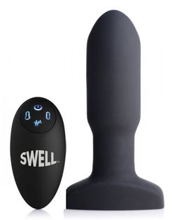 Opblaasbare en Vibrerende Missile Buttplug