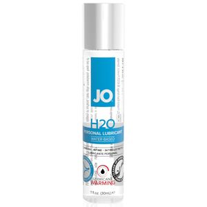System JO - H2O Wärmendes Gleitmittel - 30 ml