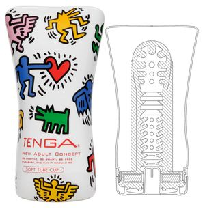 Tenga - Soft Case Cup - Keith Haring