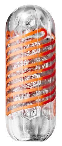 TENGA Spinner Hexa Masturbator - orange