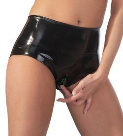 Latex Slip Met Vagina Sleeve