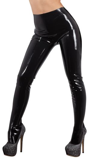 Latex Panty - Zwart