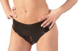 Latex Slip - Zwart