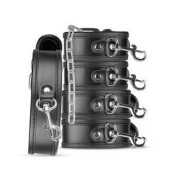 Bruno Beginners Bondage Set - Zwart