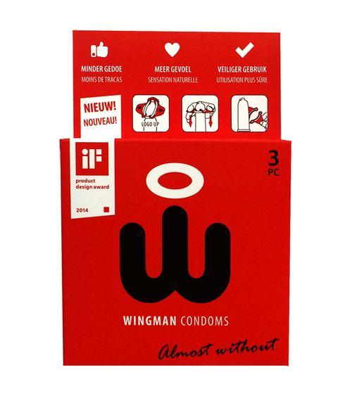 Wingman Kondome 3 Stück