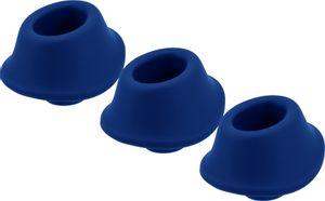 Womanizer Ersatzkappen für Premium - Größe M - Blaubeere - 3-teilig