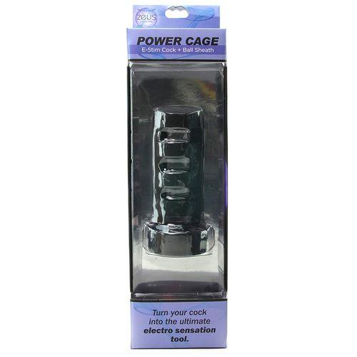 Zeus - Power Cage E-Stim Penissleeve